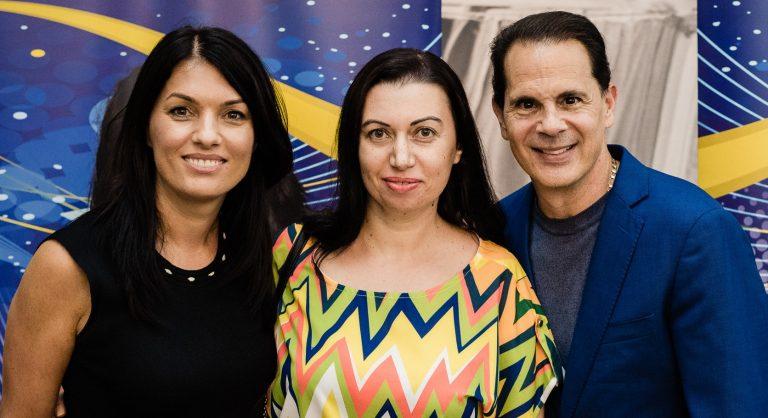 Daniela Nica, Nicoleta Fotău şi Paul Martinelli